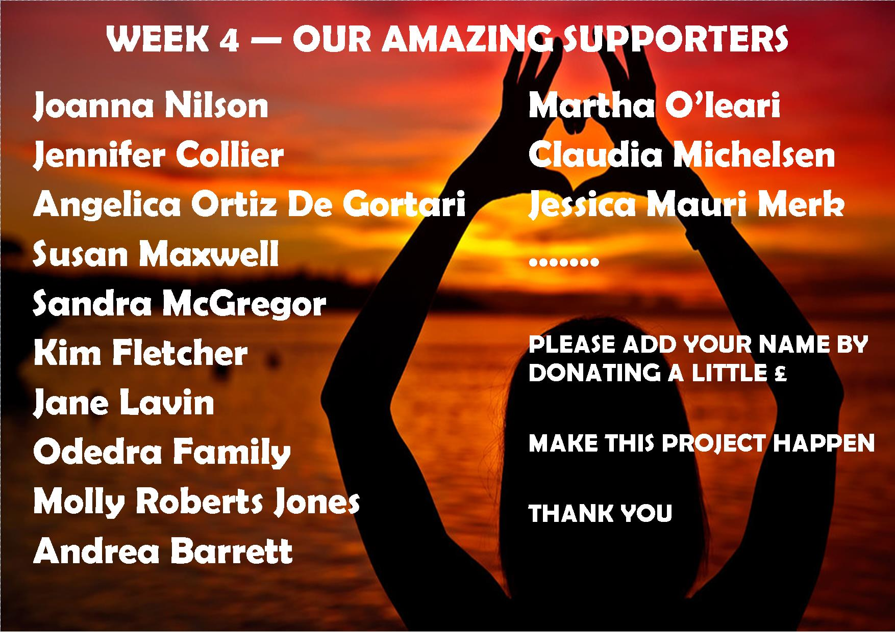 week 4 supporters ASK